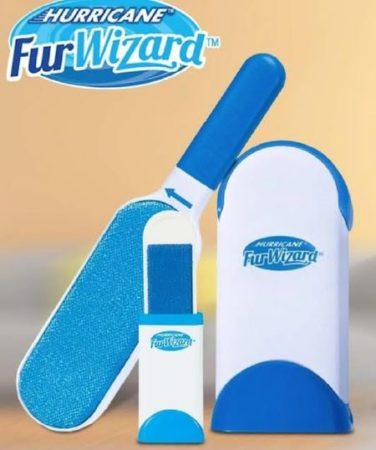 Самопочистваща се четка за косми от домашни любимци fur wizard