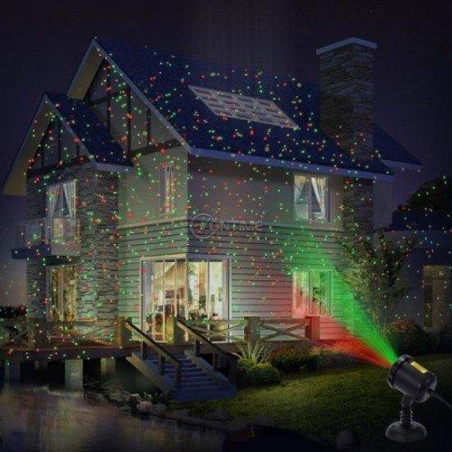 Лазерен прожектор за коледна украса